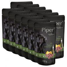 Kapsička Piper Adult s divinou a tekvicou 12 x 150 g