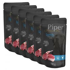 Kapsička Piper Platinum Pure jahňa 6 x 150 g