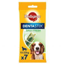 Pedigree Dentastix Daily Fresh dentálne pochúťky pre psov stredných plemien 7ks (180g)