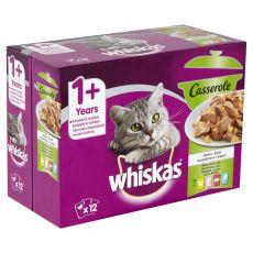 Whiskas kapsička Casserole mixovaný výber v želé 12 x 85g