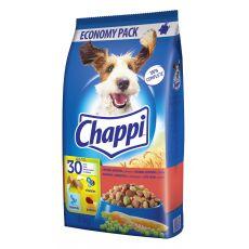 Chappi s hovädzím, hydinovým a zeleninou 9kg