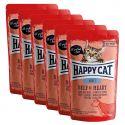 Kapsička Happy Cat ALL MEAT Adult Beef & Heart 6 x 85 g