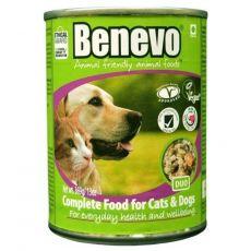 Benevo Duo kompletné krmivo pre mačky a psy 369 g