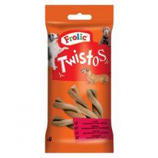 Frolic pochúťka Twistos s hovädzím mäsom 105 g