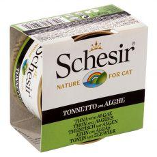 Schesir cat tuniak a morské riasy v želé 85 g