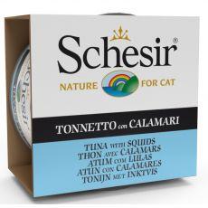 Schesir cat tuniak a chobotnica v želé 85 g
