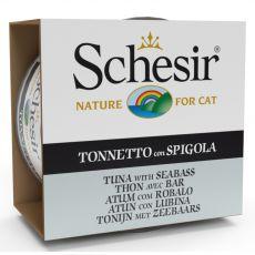 Schesir cat tuniak a morský ostriež v želé 85 g