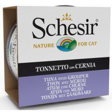 Schesir cat tuniak a kanec v želé 85 g