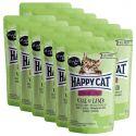 Kapsička Happy Cat ALL MEAT Adult Sterilised Veal & Lamb 12 x 85 g