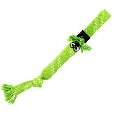 Hračka ROGZ Scrubz preťahovadlo zelené 31,5 cm