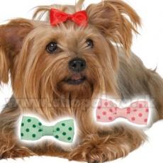 Mašlička pre psíka farebná 3,5 cm