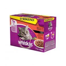 Whiskas kapsička Klasický výber so zeleninou v šťave 12 x 100 g