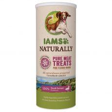 IAMS NATURALLY Dog mrazom sušené 100 % kačacie kocky 50 g