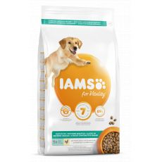 Iams Dog Adult Light in Fat, Chicken 3 kg