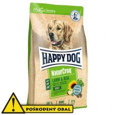 Happy Dog NaturCroq LAMM & REIS 15 kg - POŠKODENÝ OBAL