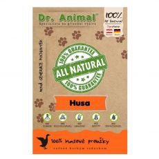 Dr.Animal 100 % husacie mäsové prúžky 80 g