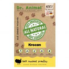 Dr.Animal 100 % morčacie mäsové prúžky 80 g