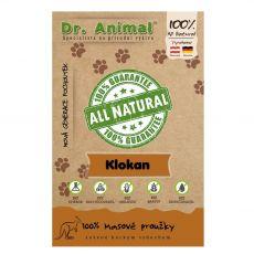 Dr.Animal 100 % klokanie mäsové prúžky 80 g