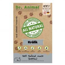 Dr.Animal 100 % králičie mäsové kocky 80 g