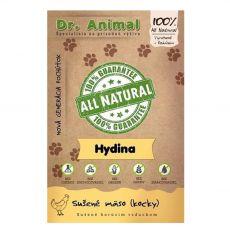 Dr.Animal 100 % hydinové mäsové kocky 80 g