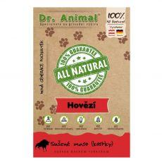 Dr.Animal 100 % hovädzie mäsové kocky 80 g