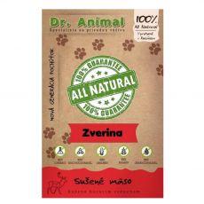 Dr.Animal 100 % zverina sušené mäso 80 g