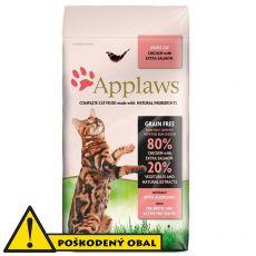 Applaws Cat Adult Chicken & Salmon 7,5kg - POŠKODENÝ OBAL