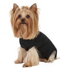 Pooperačné oblečenie pre psa XS čierne