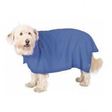 Župan pre psy - modrý - 30cm
