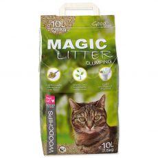 Podstielka Magic Cat Litter Woodchips 10 l / 4,3 kg