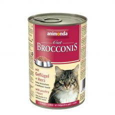 Animonda Cat BROCCONIS hydina a srdce 400 g