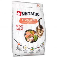 Ontario Cat Sterilised Salmon 400 g