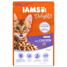 Iams Kitten chicken 85 g