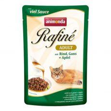 Animonda Rafiné Cat hovädzie, hus a jablko 100 g