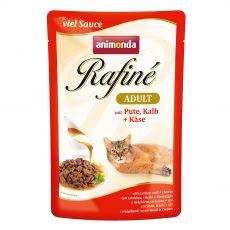 Animonda Rafiné Cat morka, teľacie a syr 100 g