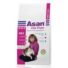Asan Cat Pure podstielka pre mačky 45 L