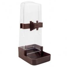 Zásobník na vodu a krmivo pre vtáky - hranatý, 200 ml