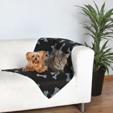 Deka pre psy a mačky - kostičky