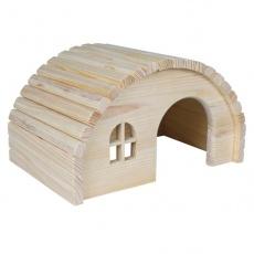 Domček pre hlodavce s oblou strechou - stredne veľký