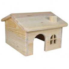 Domček pre hlodavce, šikmá strecha - stredne veľký