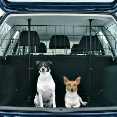 Mreže do auta bezpečnostné, čierne