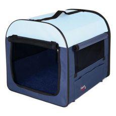 Prepravná taška - tmavo / svetlo modrá, 40 x 40 x 55 cm