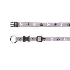 Obojok pre psa, reflexný - XS - S, 22 - 35 cm