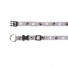 Obojok pre psa, reflexný - S -M, 30 - 45 cm