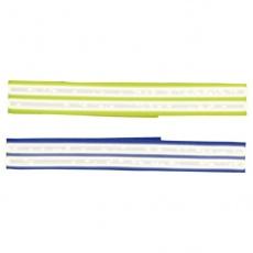 Obojok pre psov - reflexný, suchý zips, 65 cm