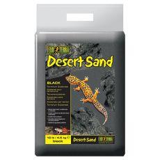 Terarijný piesok - čierny 4,5kg