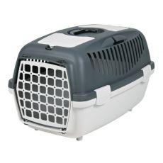 Prepravný box pre psa do 8 kg - sivý