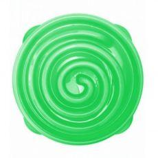 Terra Natura Slow feeder Bowl zelená špirála
