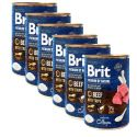 Konzerva Brit premium by Nature Beef & Tripe 6 x 400 g