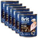 Konzerva Brit premium by Nature Fish & Fish Skin 6 x 800 g